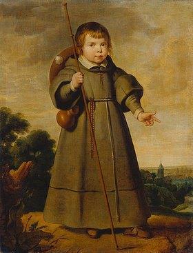 Cornelis de Vos: Porträt eines Kindes als Pilger