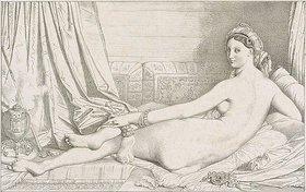 Jean Auguste Dominique Ingres: Odalisque