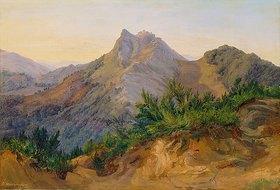 Ernst Wilh. Dietrich Willers: Bei Civitella - Blick gegen Norden von Civitella aus östlicher Richtung