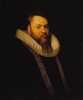 Peter Paul Rubens: Bildnis eines Mannes, habe Figur nach rechts, mit Goldkette