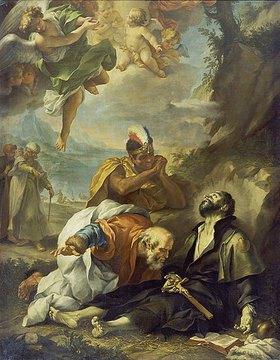 Lodovico Mazzanti: Der Tod des hl. Franz Xaver