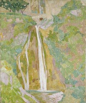 Walter Ophey: Wasserfall bei Positano