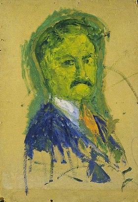 Walter Ophey: Grünes Selbstporträt