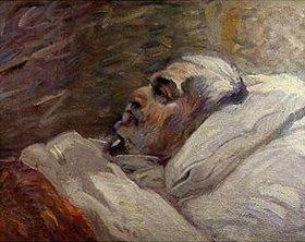 Franz Marc: Der Vater des Künstlers auf dem Krankenbett (II.)