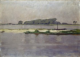 Walter Ophey: Landschaft bei Ehingen