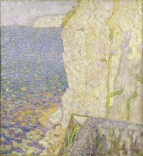 Walter Ophey: Küste bei Positano