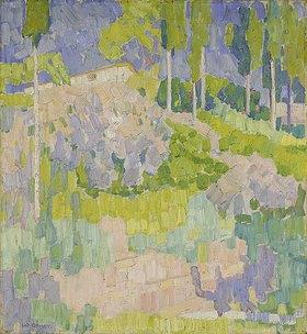 Walter Ophey: Süditalienische Landschaft