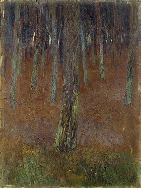 Walter Ophey: Blick in den Wald