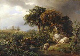 Johann Wilhelm Schirmer: Nach dem Sturm