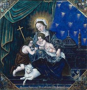 Joseph Limosin: Maria mit Christuskind und Johannes