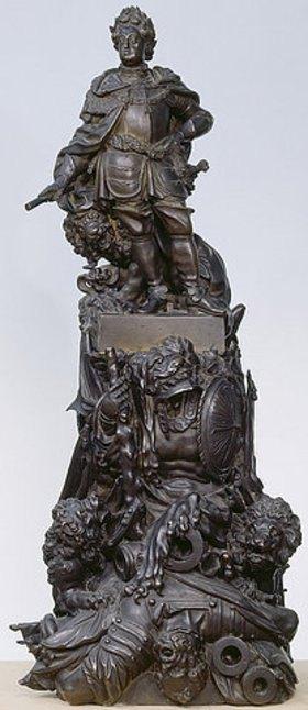 Gabriel Grupello: Kurfürst Johann Wilhelm. Vor