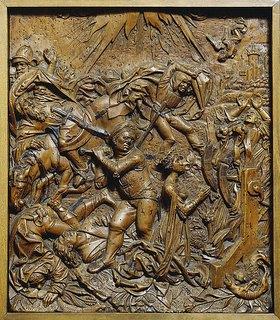 Süddeutsch: Martyrium der heiligen Katharina von Alexandrien. Erstes Viertel des 16. Jh