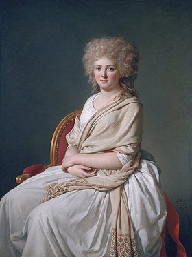 Jacques Louis David: Marquise de Sorcy de Thelusson