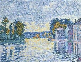 Paul Signac: Studie An der Seine. 1902 (?)