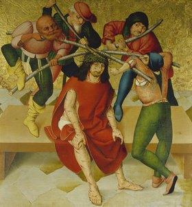 Rueland Frueauf d.Ä.: Passionsaltar: Dornenkrönung Christi