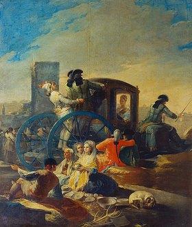 Francisco José de Goya: Der Geschirrhändler