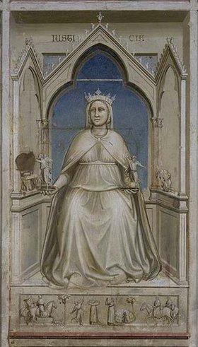 Giotto di Bondone: Allegorie der Justitia