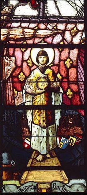 Joseph Peter Bockhorni: Hl. Ludwig IX. von Frankreich. (1214-1270)