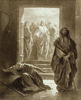 Gustave Doré: Das Gleichnis vom Pharisäer und Zöllner
