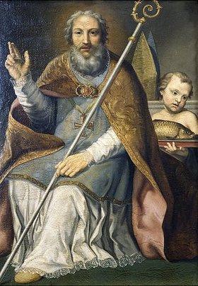 Johann Nepomuk Eberle: Der heilige Ulrich von Augsburg