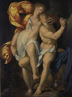 Bartholomäus Spranger: Angelica und Medoro