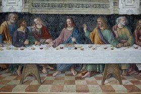 Unbekannter Künstler: Das letzte Abendmahl