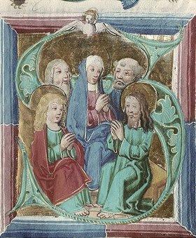 Unbekannter Künstler: Die Herabkunft des Heiligen Geistes