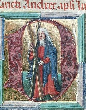 Unbekannter Künstler: St. Andreas