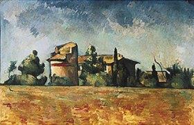 Paul Cézanne: Pigeonnier de Bellevue