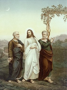 Gang nach Emmaus (Allioli Bibel)