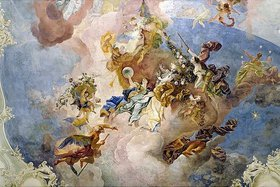 Franz Anton Maulbertsch: Allegorie der Zeit und des Lichtes
