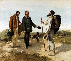 Gustave Courbet: Die Begegnung (oder: Bonjour Monsieur Courbet)
