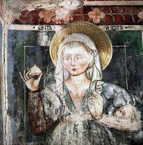 Unbekannter Künstler: Die hl. Agatha