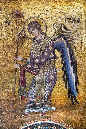 Byzantinisch: Erzengel Gabriel