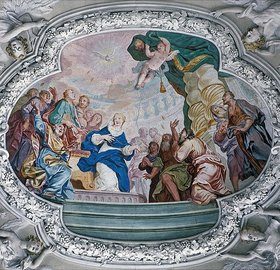 Johann Baptist Zimmermann: Das Pfingstwunder