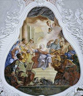 Christoph Thomas Scheffler: Der 12-jährige Jesus im Tempel