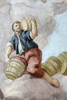 Bartholomäus Altomonte: Allegorie der Landwirtschaft (Detail eines Deckengemäldes)