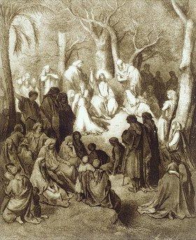 Gustave Doré: Bergpredigt