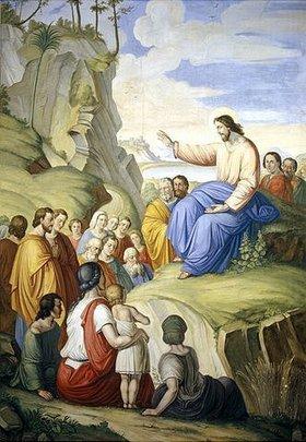 Unbekannter Künstler: Die Bergpredigt