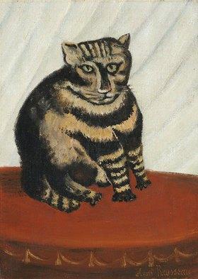 Henri Rousseau: Le Chat Tigre