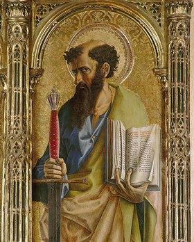 Carlo Crivelli: Der Heilige Paulus