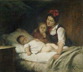 Rudolf Epp: Das schlafende Kleinkind