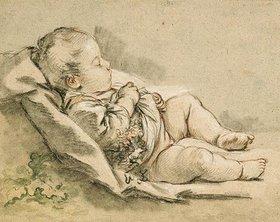François Boucher: Ein schlafendes Kleinkind