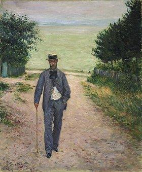 Gustave Caillebotte: Spaziergänger am Meer