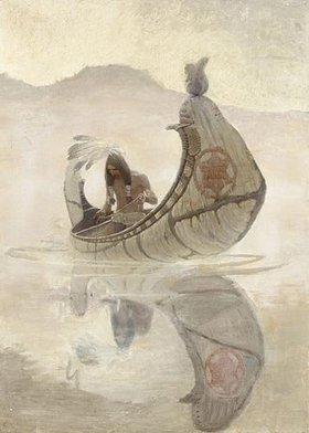 Newell Convers Wyeth: Hiawatha Fishing