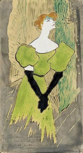 Henri de Toulouse-Lautrec: Yvette Guilbert