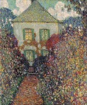 Henri Le Sidaner: Das Haus von Jean-Jacques Rousseau
