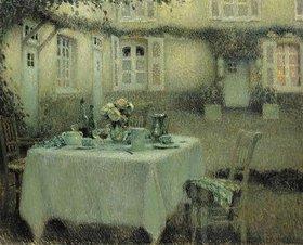 Henri Le Sidaner: Der Tisch