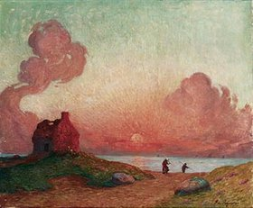 Ferdinand du Puigaudeau: Sonnenuntergang