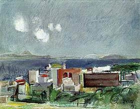 Rudolf Levy: Südliche Landschaft
